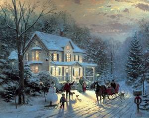 Thomas Kinkade Natale