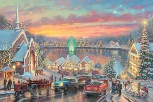 Thomas Kinkade 圣诞节