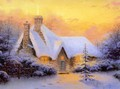 Thomas Kinkade Christmas - christmas photo