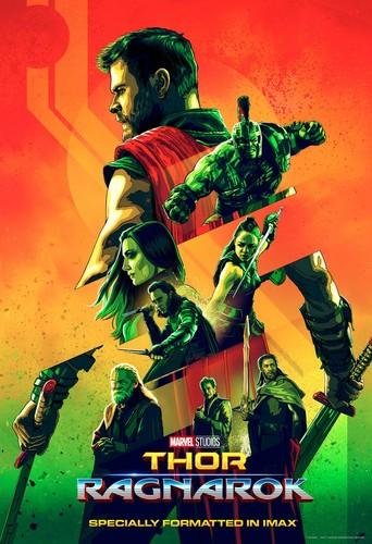Thor: Ragnarok Hintergrund called Thor Ragnarok IMAX poster