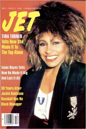 Tina Turner On The Cover Of Jet