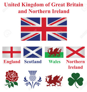 UK Collection Of Flags & Emblems