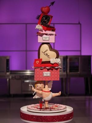 Valentine's araw Cake