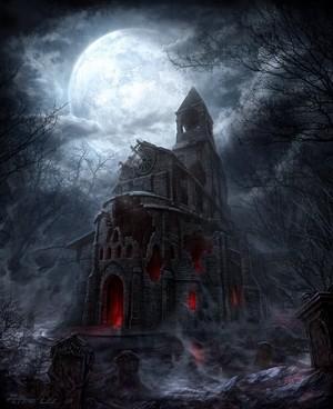 Вампиры замок