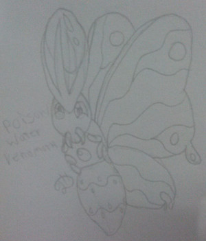 Venomoth New Form