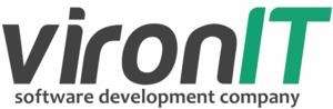 VironIT logo light fon rfad