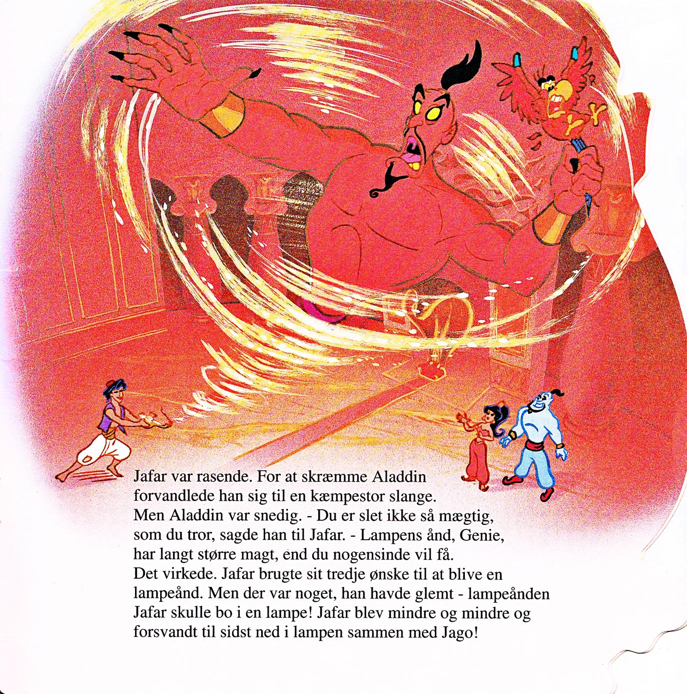 Walt Дисней Book Scans – Aladdin: The Genie's Story (Danish Version)