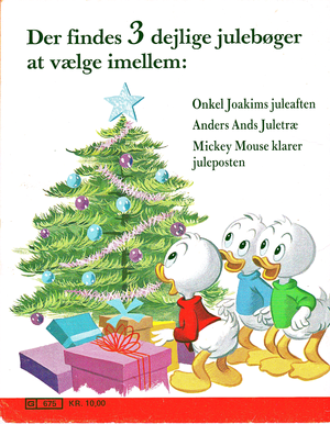 Walt Disney Book Scans – Uncle Scrooge's Christmas Eve (Danish Version)