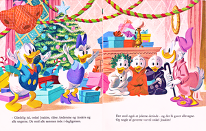Walt 迪士尼 Book Scans – Uncle Scrooge's 圣诞节 Eve (Danish Version)