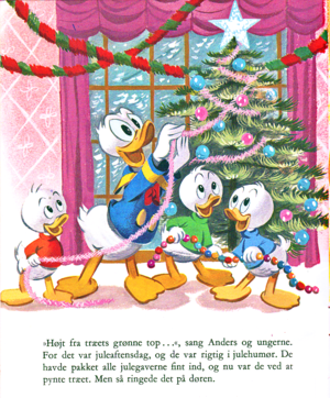 Walt Disney Book Scans – Uncle Scrooge's Weihnachten Eve (Danish Version)