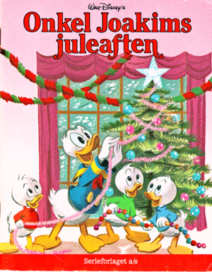 Walt disney Book Scans – Uncle Scrooge's natal Eve (Danish Version)