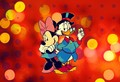 Walt Disney Fan Art - Scrooge McDuck and Minnie Mouse - walt-disney-characters fan art