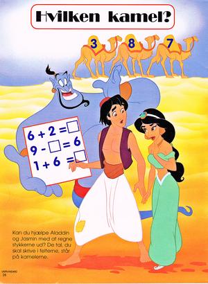 Walt Дисней Обои – Genie, Prince Аладдин & Princess жасмин