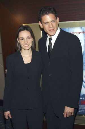 Wentworth Miller and Kelly Feeney