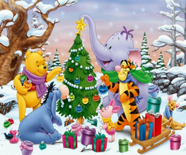jessowey jessica owens images winnie the pooh christmas hd wallpaper and background photos - Pooh Christmas