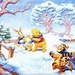 Winnie and Friends Winter Icon - classic-disney icon