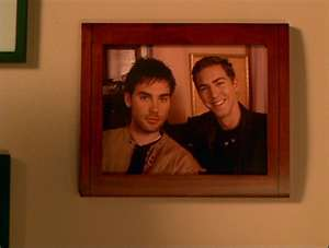 Hot guys on Charmed fond d'écran titled Wyatt and Chris 2