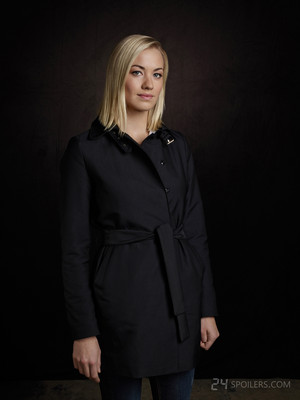 Yvonne Strahovski as Kate morgan - Live Another hari