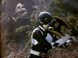 Zack Morphed As The Original Black Mighty Morphin Ranger