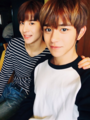 jungwoo and lucas - sm-rookies photo