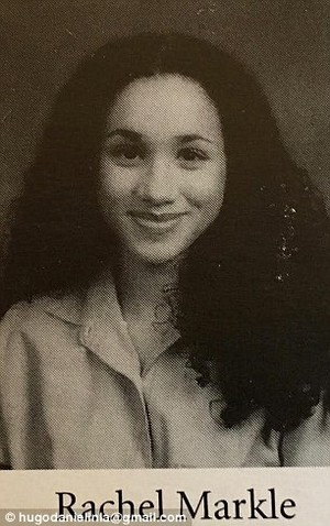 meghan markle teenager