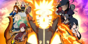 naruto shippuden ultimate ninja storm revolution artwork