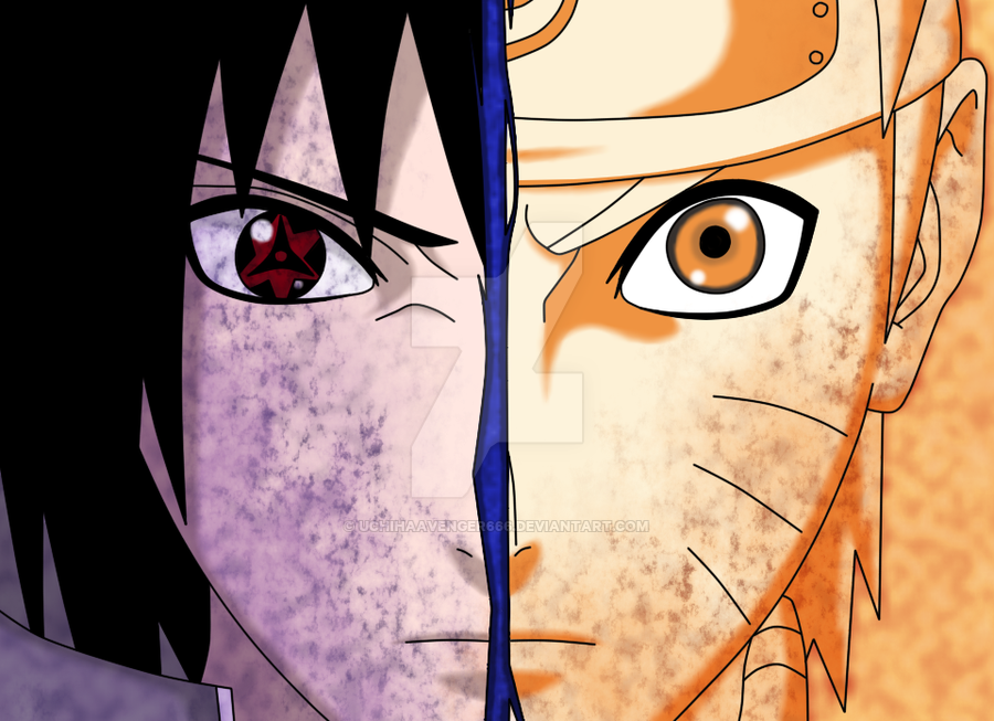 SAVAGER1358 Images Naruto Vs Sasuke Re Drawn Par Uchihaavenger666 D6l3joa HD Fond D'écran And