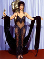 Backstage At The 1988 Academy Awards  - cher photo