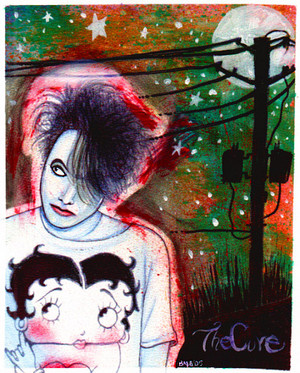 the cure is robert smith 의해 lookingforthecure