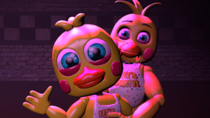 toy chica and her adventure form fnaf sfm oleh synapsezegeek daf109g