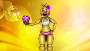 toy chica wallpaper por manglethefoxfan d9f1md7