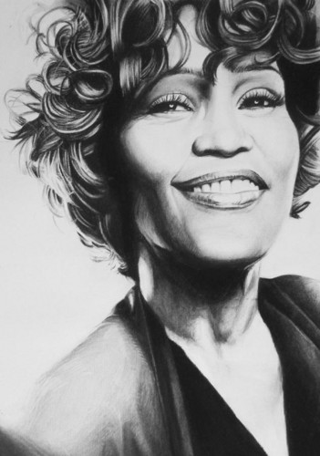 Beautiful Things 壁纸 entitled Whitney Houston