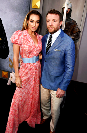Guy Ritchie and wife