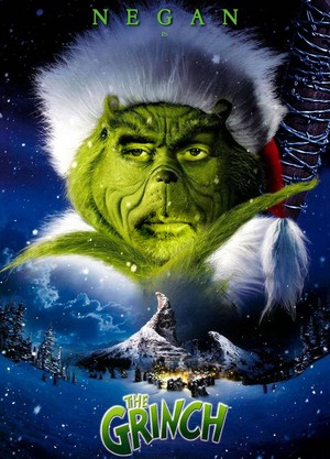 'The Walking Dead'/The Grinch Mash-Up Poster