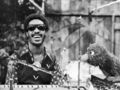Stevie Wonder 1973 Sesame Street  - classic-r-and-b-music photo
