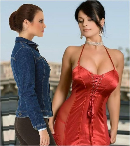 Jennifer Connelly And Denise Milani Images