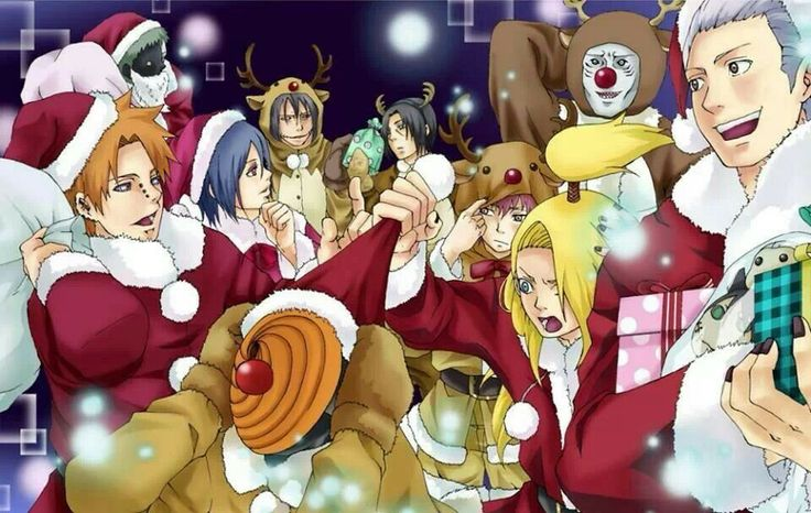 applebear123 images 4d6c0f82c7f132b19579af0871bdc33f whats christmas naruto family wallpaper and background photos - Naruto Christmas