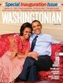 Barack And Michelle On Cover Of Washingtonian - barack-obama photo