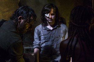 8x08 ~ How It's Gotta Be ~ Carl, Michonne and Rick