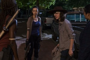 8x08 ~ How It's Gotta Be ~ Carl, Tara, Michonne and Rosita
