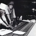 In The Recording Studio With Quincy Jones  - michael-jackson photo