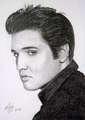 Elvis Presley  - elvis-presley fan art