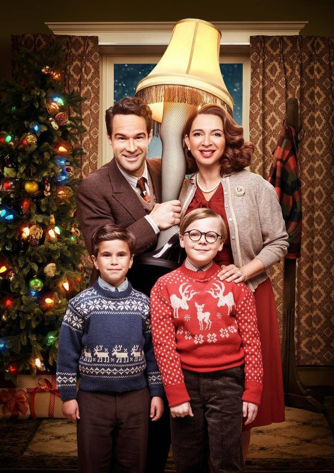 a christmas story images a christmas story live 2017 the parker family hd wallpaper and background photos - What Year Is Christmas Story Set