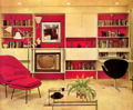 "A Furnished Living Room From The ""'70's - the-70s photo"