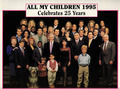 AMC 25th Anniversary Cast [1995] - all-my-children photo