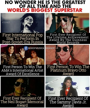 Achievements That Makes Michael Jackson The World's Biggest Superstar