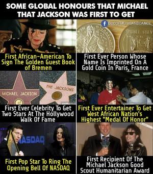 Achievements That Makes Michael Jackson The World's Biggest Superstar