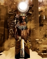 African Gods Khonsu Khensu Ekwensu by Ugo Art  10  - ugo-art-film photo