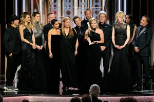 Alexander Skarsgård and Big Little Lies Cast at 2018 Golden Globes