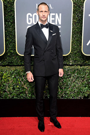 Alexander Skarsgård at 2018 Golden Globes